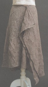 Tweed skirt from book Stylish Skirts