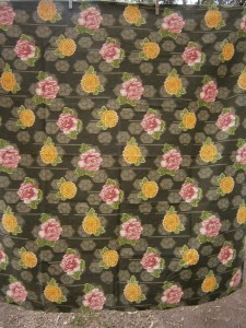 asian print tablecloth