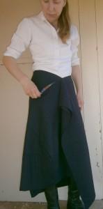 pocket in mystery skirt
