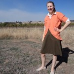 Japanese cardigan and featured skirt