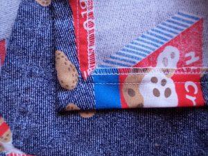 Free wrap skirt pattern skirt mitred corner