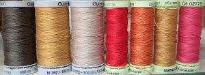 topstitching thread reels