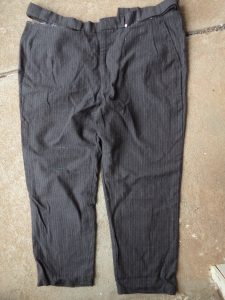 winter shorts front view of trousers