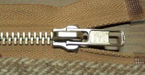 Shortening a metal zip