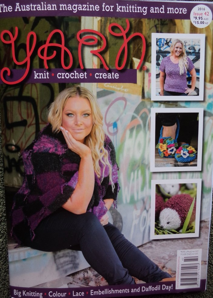 Yarn magazine issue 42 front cover