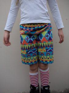 free childrens shorts pattern