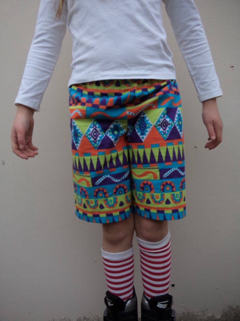 free childrens shorts pattern