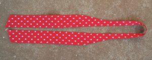Free Pattern Pussycat Bow tie laid flat