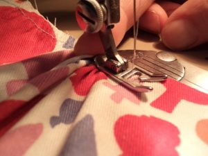 Like or Loathe it stay stitching finger behind presser foot