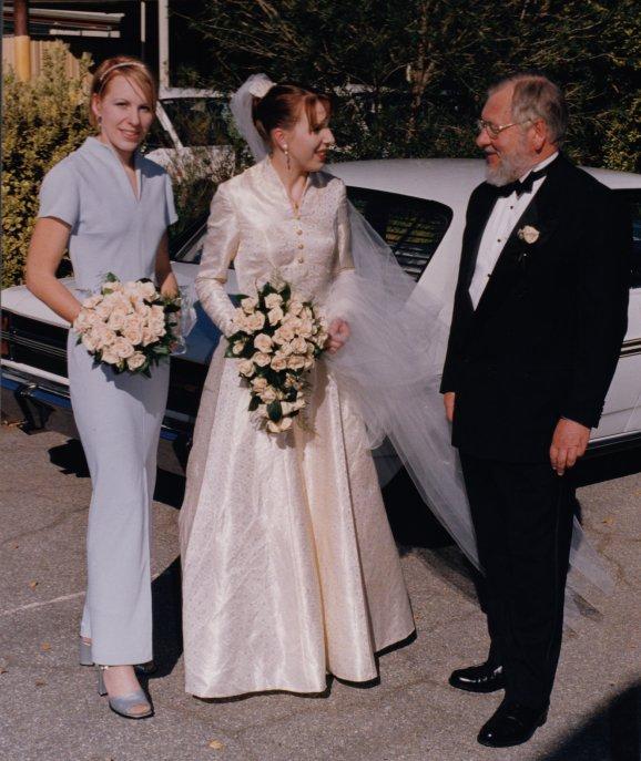 My Wedding Dress 18 years ago