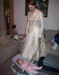 My Wedding Dress 8 years ago