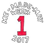 Me Made May 2017 week 1 clothing capsule