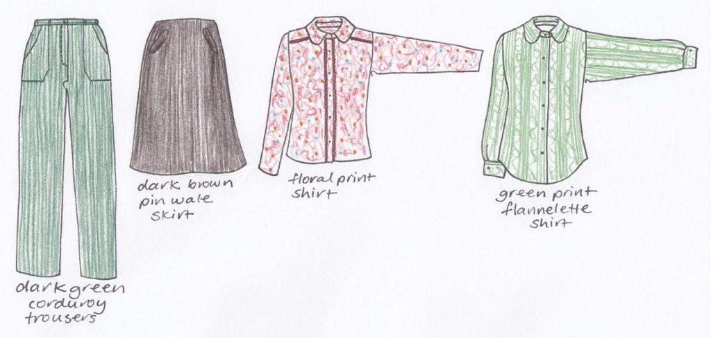 Me Made May 2017 week 1 clothing capsule