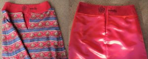 My ex-favourite skirt just became favourite again before and after