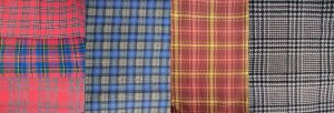 Time Capsule from the 1960s plaid fabrics