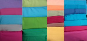 Time Capsule from the 1960s plain fabrics