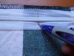 How to sew an invisible zip 7