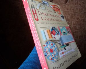 Introducing The Dressmaker's Companion front cover and spine