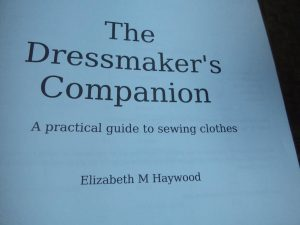 The Dressmaker's Companion interior page title page
