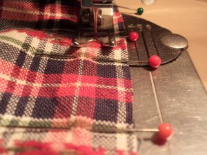 Like or loathe it matching checks, stripes and junctions sew seam