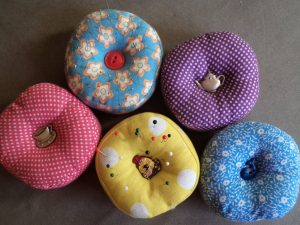 3 Great pincushion ideas all Dressmaker's Companion pincushions