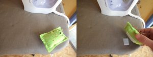 3 Great pincushion ideas velcro pincushion velcroed to ironing board