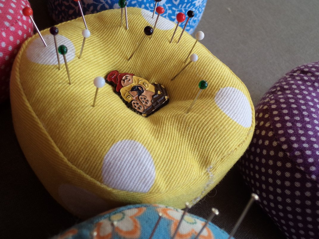 3 Great pincushion ideas