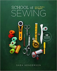 Creating a book cover school of sewing book cover