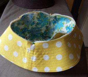 Free Pattern Make a Hat brim and crown seam