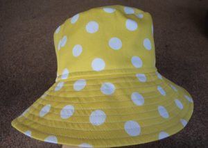 Free Pattern Make a Hat yellow hat