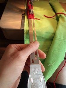 Singercraft fringe guide to use 6