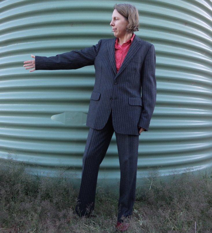 The Aquascutum suit jacket