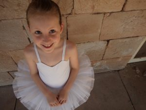 The Haywoods do Fancy Dress Ballerina