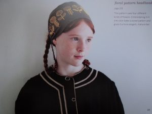 An embroidered interlude girl with headband