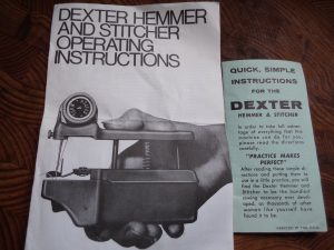 Behold The Dexter manuals