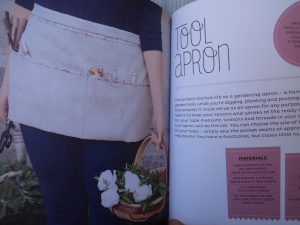 Book review Makery books apron project