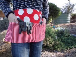 Book review Makery books gardening apron