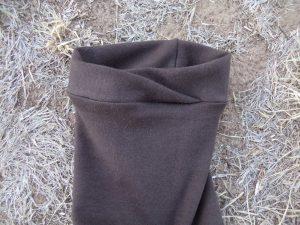Zero waste leggings cuff