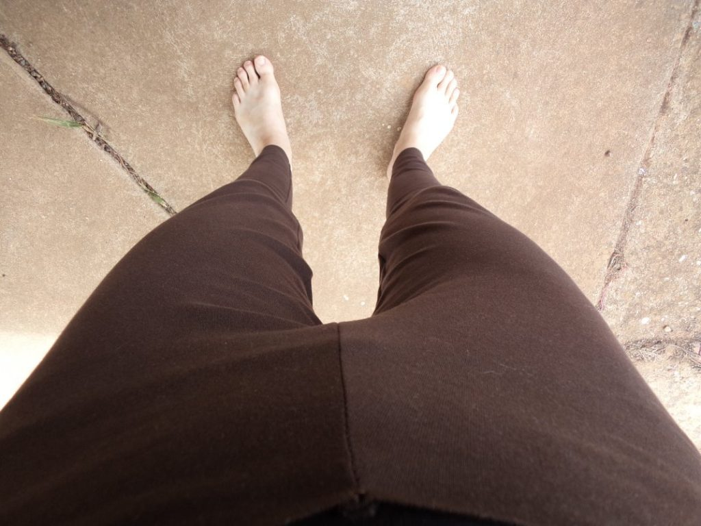 Zero waste leggings