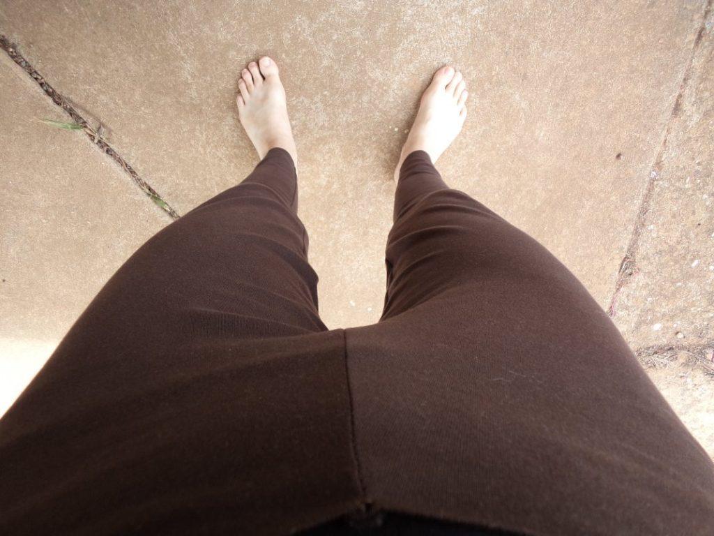 Zero waste leggings