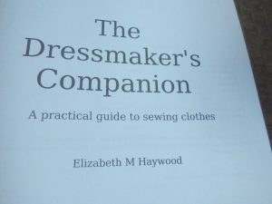 Introducing The Dressmaker's Companion interior page title page