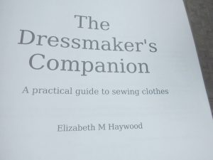 Introducing The Dressmaker's Companion title page