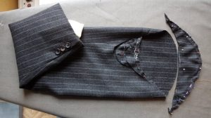 The Aquascutum Suit preliminary trim