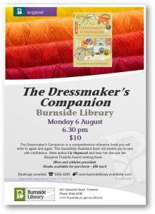 Burnside library flyer for Aug