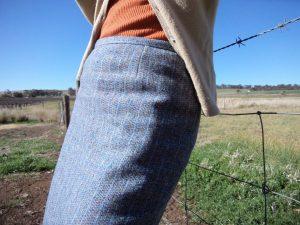 A conservative skirt dart