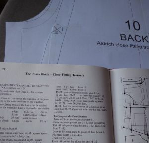 Finished my MMM18 trousers Aldrich's book