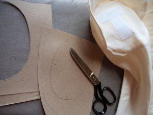 Armed intervention cardboard ovals
