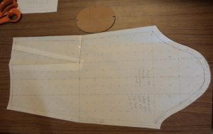That old dressmakers model initial sleeve pattern