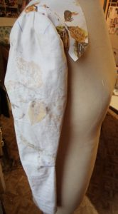 That old dressmakers model the second toile