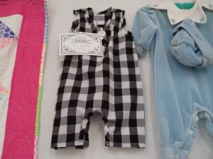 A day at the country show baby jumpsuit